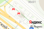 Схема проезда до компании Станция Динамо в Москве