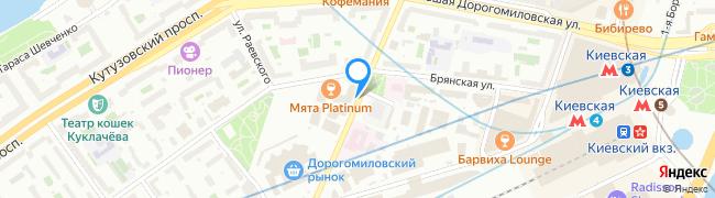 улица Можайский Вал
