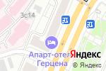 Схема проезда до компании Амстердам в Москве