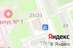 Схема проезда до компании Универмаг в Москве