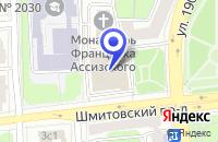 Схема проезда до компании МАГАЗИН ДВЕРЕЙ СПЕЦЖИЛСТРОЙ в Москве