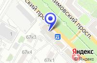 Схема проезда до компании МАГАЗИН КУХНИ ЭДЕЛЬ в Москве