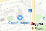 Схема проезда до компании Hр-shop в Москве
