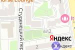 Схема проезда до компании АКБ Енисей в Москве