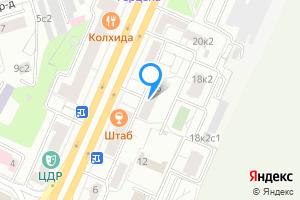 Комната в четырехкомнатной квартире в Москве Беговая ул., 16