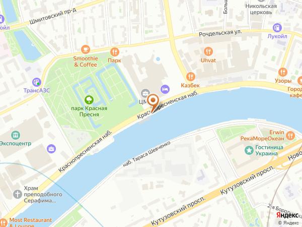 Остановка «Центр международной торговли», Краснопресненская набережная (1000935) (Москва)