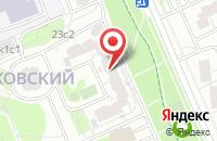 Схема проезда до компании Астт в Москве