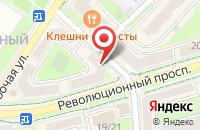 Схема проезда до компании Инночка в Подольске