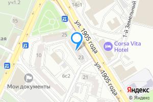 Снять комнату в Москве м. Улица 1905 года, улица 1905 года, 23