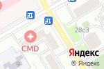 Схема проезда до компании Интер-Авто в Москве