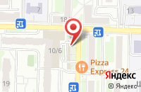 Схема проезда до компании Снежана в Подольске