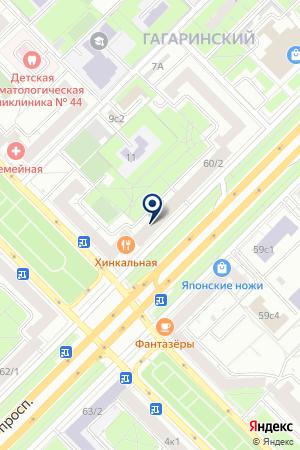 АПТЕЧНЫЙ ПУНКТ на карте Москвы