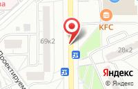 Схема проезда до компании Вдф в Москве