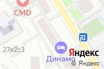 Схема проезда до компании Центрмакросервис в Москве