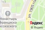 Схема проезда до компании Управление социальной защиты населения Пресненского района в Москве