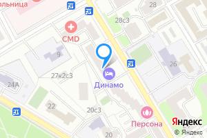 Комната в однокомнатной квартире в Москве ул. Верхняя Масловка, 27к1
