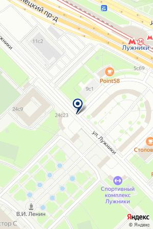 АВТОЗАПРАВОЧНЫЙ КОМПЛЕКС на карте Москвы