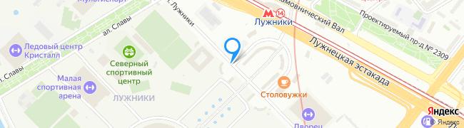 улица Лужники