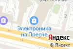Схема проезда до компании Vpl в Москве