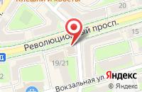 Схема проезда до компании Страховая компания в Подольске