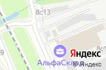 Схема проезда до компании Алеся Д в Москве
