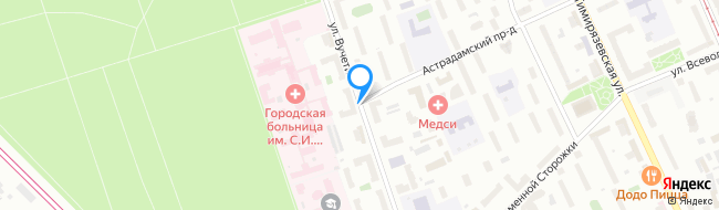 улица Вучетича