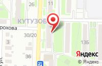 Схема проезда до компании Островок в Подольске