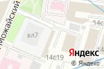 Схема проезда до компании PaintBall Upgrades в Москве