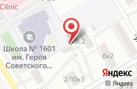 Схема проезда до компании Туранстрой в Москве