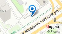 Компания Автосервис на Большой Академической на карте