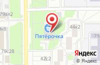 Схема проезда до компании Глобал Вендинг в Москве