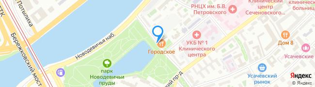 Новодевичий проезд