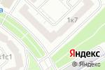 Схема проезда до компании Парикмахерская на Скобелевской в Москве
