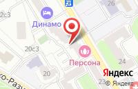Схема проезда до компании Несто в Москве