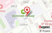 Схема проезда до компании Проектная Строительная Компания  в Москве