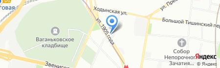 Руссервис на карте Москвы