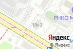 Схема проезда до компании Искусство Красоты в Москве