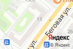 Схема проезда до компании СервисДизайн в Москве