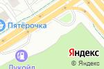 Схема проезда до компании Korean Auto Parts в Москве