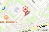 Схема проезда до компании NL International в Подольске