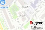 Схема проезда до компании Дар речи в Москве