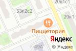 Схема проезда до компании Монтессори-центр на Дубнинской в Москве