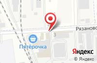 Схема проезда до компании КАНЦстор в Подольске