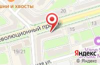 Схема проезда до компании Мышь в Подольске
