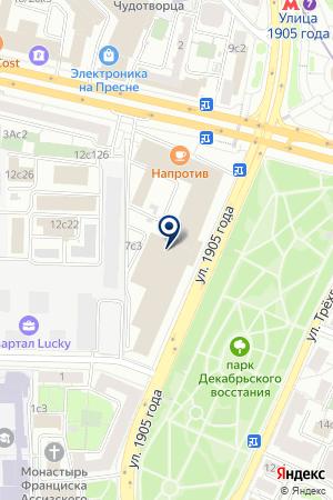 РЕДАКЦИЯ ГАЗЕТЫ ПРИРОДА И ОХОТА на карте Москвы