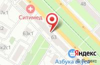 Схема проезда до компании Эликонстрой в Москве