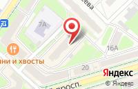 Схема проезда до компании Bridge в Подольске