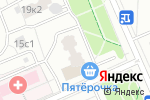 Схема проезда до компании Пять кружек в Москве