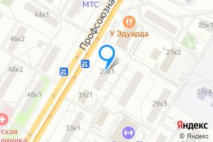 Сдается двухкомнатная квартира в Москве м. Новые Черемушки, Профсоюзная улица, 29к1