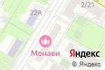 Схема проезда до компании АрхиКом в Москве